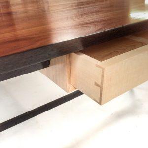 Plum desk drawer